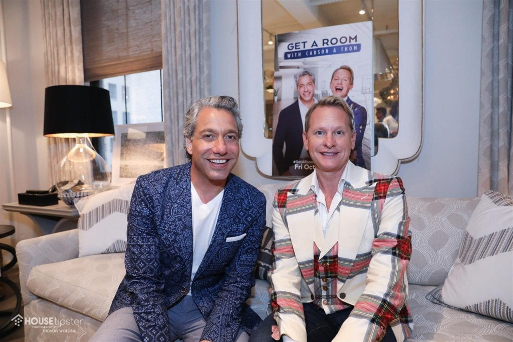 carson kressley and thom filicia reunite for their new. Black Bedroom Furniture Sets. Home Design Ideas