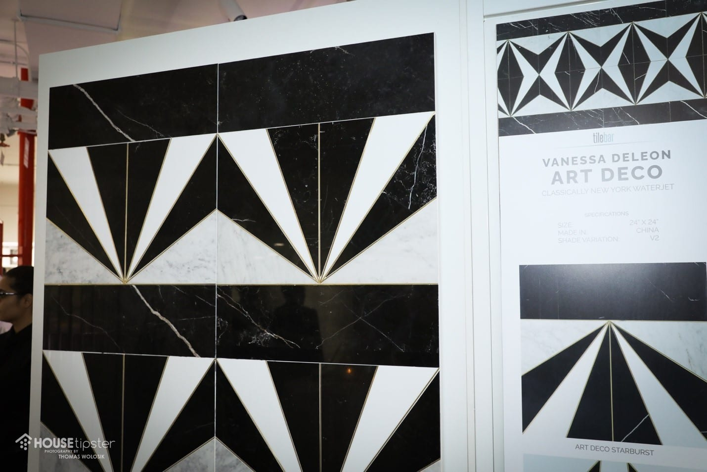 Art Deco unveiling at TileBar NYC showroom grand opening event